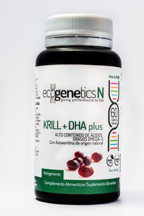 óleo de krill e ácido docosahexanoico