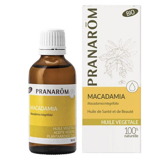 óleo vegetal de macadamia integrifolia